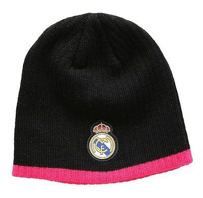 REAL MADRID SUPPORTERS BEANIE Black/Pink