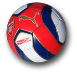 PUMA ARSENAL FAN BALL 1 2014/15 SIZE 5 RED/WHITE.