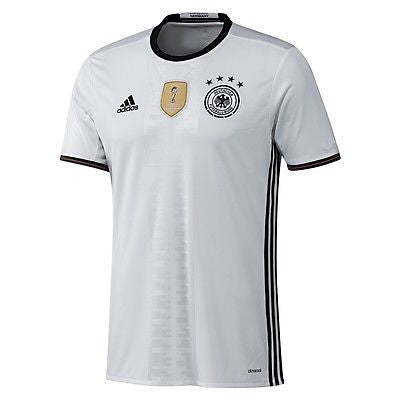 ADIDAS GERMANY EURO 2016 YOUTH HOME JERSEY BOYS White/Black.