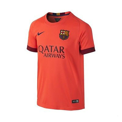 NIKE FC BARCELONA AWAY YOUTH JERSEY 2014/15 1