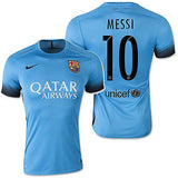 NIKE LIONEL MESSI FC BARCELONA AUTHENTIC THIRD NIGHT RISING MATCH JERSEY 2015/16