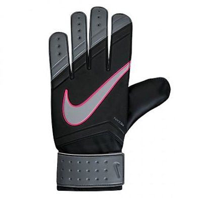 NIKE GK MATCH GOALKEEPER GLOVES MEN SIZES Black/Cool Grey/Hyper Pink/Black
