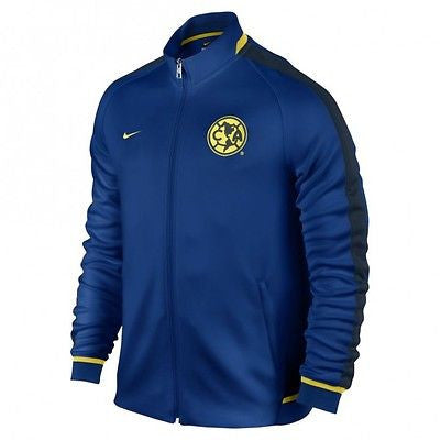 NIKE CLUB AMERICA AUTHENTIC N98 TRACK JACKET Gym Blue