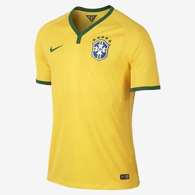 NIKE BRAZIL AUTHENTIC MATCH HOME JERSEY FIFA WORLD CUP 2014.