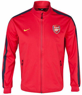 NIKE ARSENAL AUTHENTIC PLAYERS ISSUE UEFA CHAMPIONS LEAGUE N98 JACKET