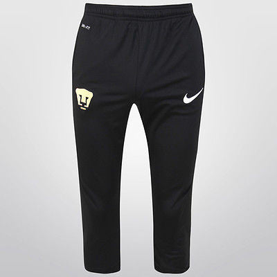 NIKE PUMAS UNAM 3/4 TRAINING TECH PANTS 2015/16 Black/White.