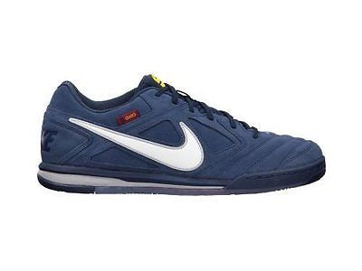 NIKE NIKE5 GATO ESPECIAL (FC BARCELONA) INDOOR SOCCER SHOES Midnight Navy/White-