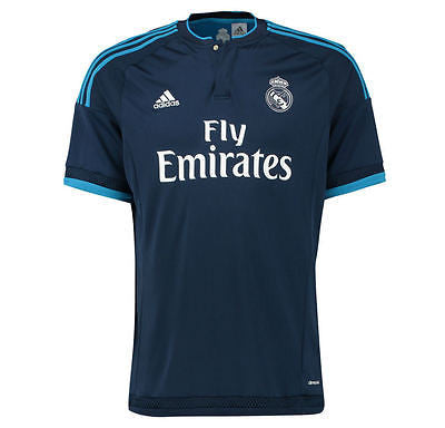 ADIDAS REAL MADRID YOUTH THIRD JERSEY 2015/16 LA LIGA SPAIN.
