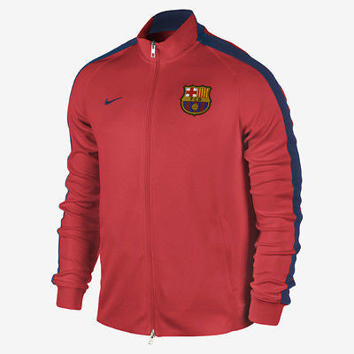 NIKE FC BARCELONA AUTHENTIC N98 TRACK JACKET Crimson/Blue.