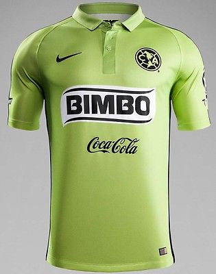 NIKE CLUB AMERICA AUTHENTIC MATCH THIRD JERSEY 2014/15.