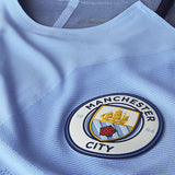 NIKE LEROY SANE MANCHESTER CITY UEFA CHAMPIONS LEAGUE AUTHENTIC VAPOR MATCH HOME JERSEY 2016/17 3