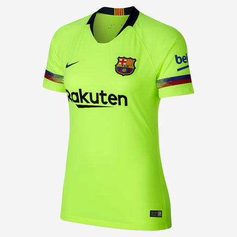 NIKE FC BARCELONA WOMEN'S AWAY JERSEY 2018/19.