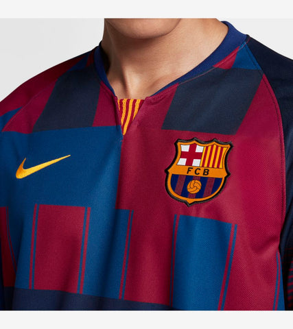 online store 64ed3 faba5 NIKE FC BARCELONA 20TH ANNIVERSARY MASHUP HOME JERSEY 1999 -2019.