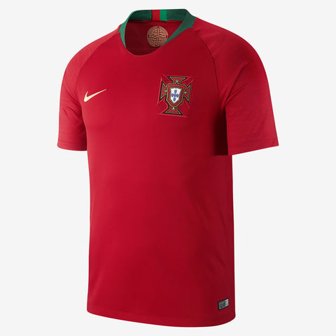 sale retailer 0de0c bfd0e NIKE CRISTIANO RONALDO PORTUGAL HOME JERSEY WORLD CUP 2018 PATCHES.