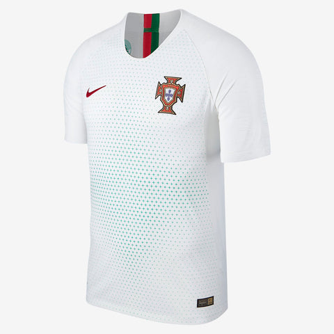 NIKE PORTUGAL VAPORKNIT VAPOR MATCH AUTHENTIC AWAY JERSEY FIFA WORLD CUP 2018.