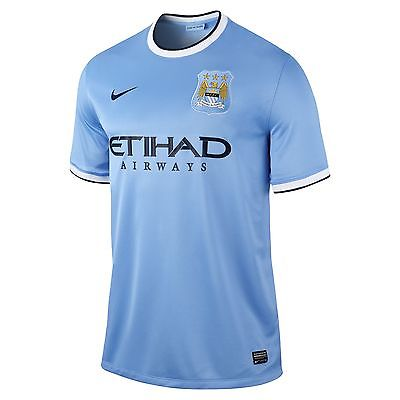 NIKE MANCHESTER CITY HOME JERSEY 2013/14.