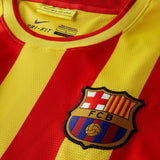 NIKE LIONEL MESSI FC BARCELONA LONG SLEEVE AWAY JERSEY 2013/14 3