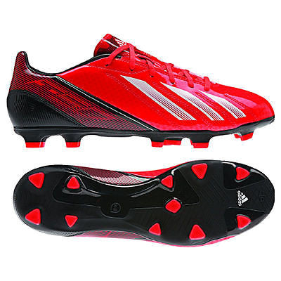 ADIDAS MESSI F10 TRX FG FIRM GROUND SOCCER MICOACH COMPATIBLE SHOES INFRARED