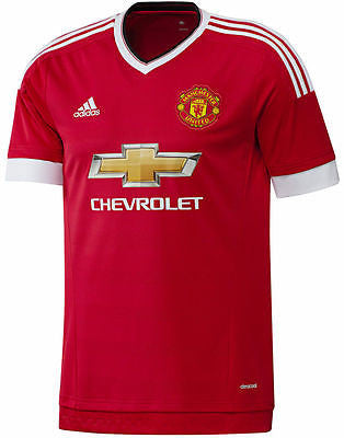 ADIDAS MANCHESTER UNITED YOUTH HOME JERSEY 2015/16