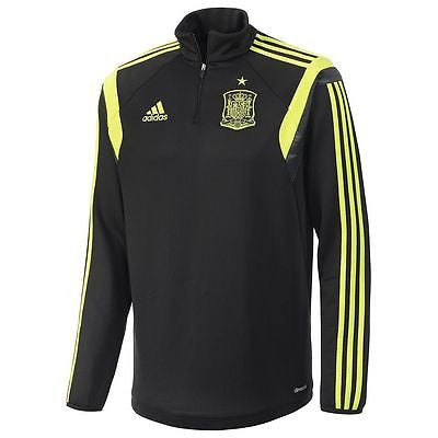 ADIDAS SPAIN TRAINING TOP Black/Electricty.