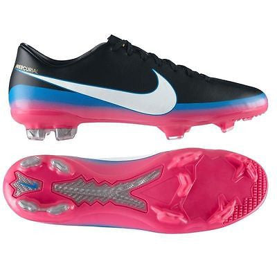 NIKE CR7 MERCURIAL GLIDE III CR FG FIRM GROUND SOCCER FOOTBALL SHOES BLACK.