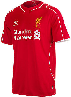 WARRIOR LIVERPOOL FC HOME JERSEY 2014/15