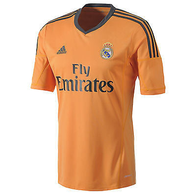 ADIDAS REAL MADRID THIRD 3RD JERSEY 2013/14