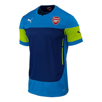PUMA ARSENAL TRAINING TOP JERSEY Blue/Navy 1
