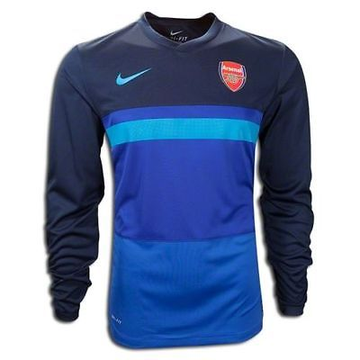 NIKE ARSENAL LONG SLEEVE PRE MATCH TOP 436673-454