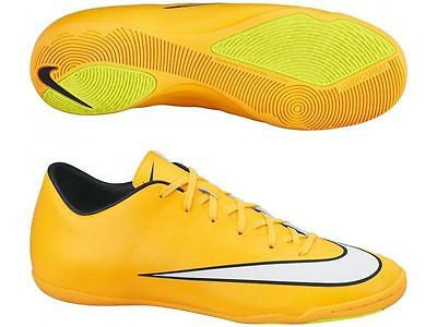 NIKE MERCURIAL VICTORY V IC INDOOR SOCCER CR7 SHOES Laser Orange/Black