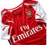 PUMA ARSENAL AUTHENTIC PLAYERS MATCH HOME JERSEY 2014/15 ON SALE.