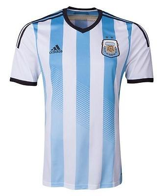 ADIDAS ARGENTINA HOME JERSEY FIFA WORLD CUP BRAZIL 2014.