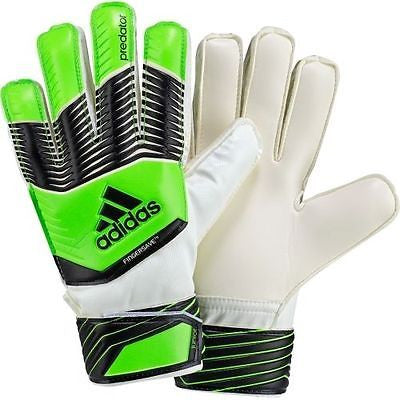 ADIDAS PREDATOR FINGERSAVE JUNIOR GOALKEEPER GLOVES YOUTH SIZES.