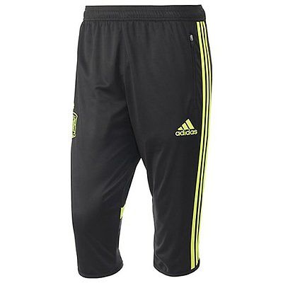 ADIDAS SPAIN 3/4 TRAINING PANT FIFA WORLD CUP BRAZIL 2014 Black.