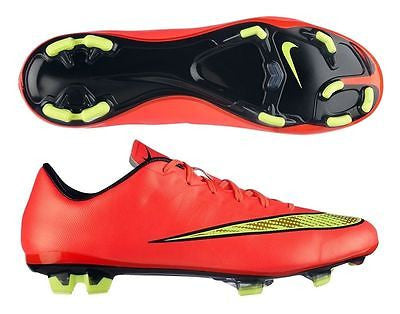 NIKE MERCURIAL VELOCE II FG FIRM GROUND SOCCER CR7 SHOES Hyper Punch