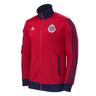 ADIDAS CHIVAS DE GUADALAJARA CORE TRACK TOP JACKET Red/Navy.