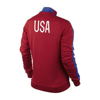 Details about NIKE USA SOCCER TEAM WOMEN'S AUTHENTIC N98 TRACK JACKET