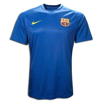 NIKE FC BARCELONA PRE MATCH TRAINING TOP Blue/Red