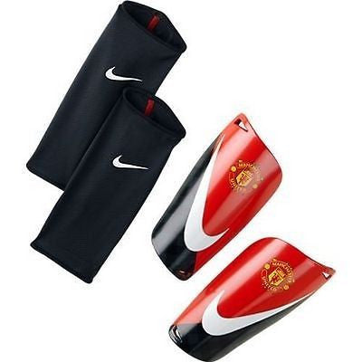 NIKE MANCHESTER UNITED MERCURIAL LITE SHINGUARD FOOTBALL SOCCER BARCLAYS.