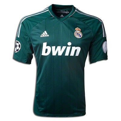 ADIDAS REAL MADRID UEFA CHAMPIONS LEAGUE THIRD JERSEY 2012/13