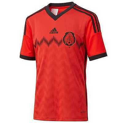 ADIDAS MEXICO YOUTH AWAY JERSEY FIFA WORLD CUP BRAZIL 2014