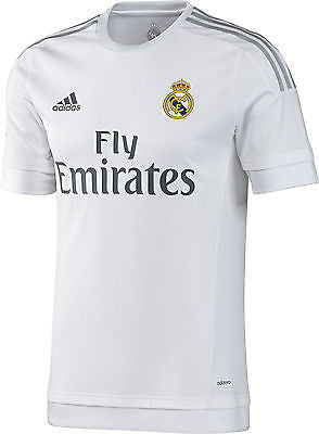 d0d810f4c ADIDAS REAL MADRID AUTHENTIC HOME MATCH JERSEY 2015 16