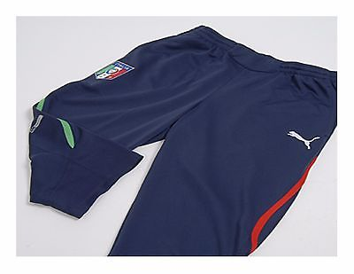 PUMA ITALY 3/4 TRAINING PANTS FIFA WORLD CUP SOUTH AFRICA 2010 Navy.