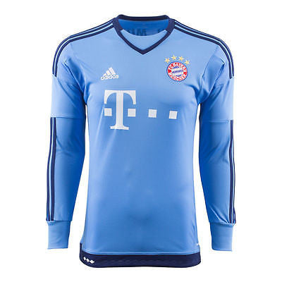 ADIDAS BAYERN MUNICH HOME GOALKEEPER JERSEY 2015/16