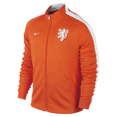 NIKE NETHERLANDS AUTHENTIC N98 JACKET HOLLAND DUTCH Orange/White.