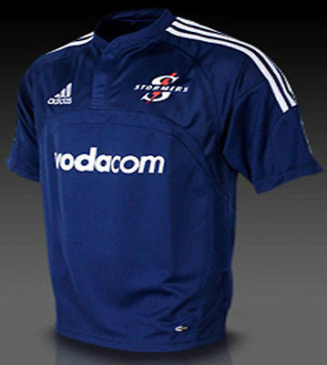 ADIDAS STORMERS SUPER 14 UNION RUGBY HOME JERSEY.