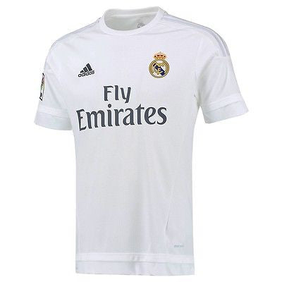 ADIDAS REAL MADRID YOUTH HOME JERSEY 2015/16