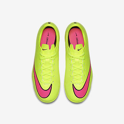 e7f9bf1b2 ... NIKE MERCURIAL VICTORY V IC JUNIOR YOUTH INDOOR SOCCER FUTSAL SHOES  Volt Black H