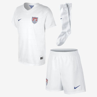 NIKE USA SOCCER LITTLE BOYS HOME KIT FIFA WORLD CUP BRAZIL 2014.