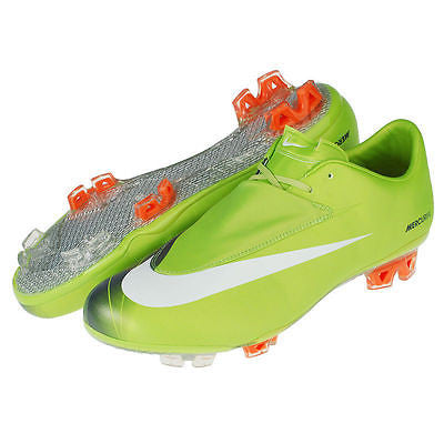 NIKE CR7 MERCURIAL VAPOR VI FG  FIRM GROUND SOCCER SHOES Bright Cactus 1